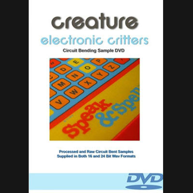 Electronic Critters : The Experimental Circuit Bending Loop Library, Sound Effects download, Sound Downloads, Pro Sound Effects, Sound Effect Libraries