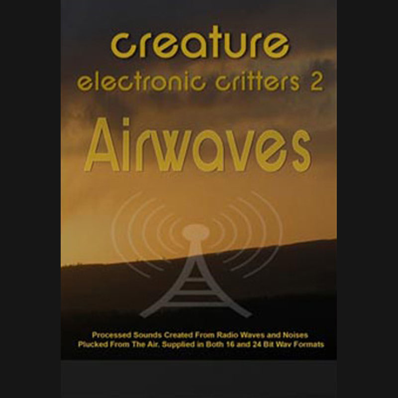 Electronic Critters : Airwaves, Sound Effects download, Sound Downloads, Pro Sound Effects, Sound Effect Libraries