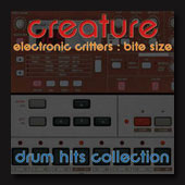 Electronic Critters Drum Hits Collection, Sound Effects download, Sound Downloads, Pro Sound Effects, Sound Effect Libraries