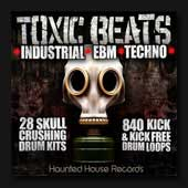 Toxic Beats sample library featuring drum loop and drum hits aimed at industrial, EBM and Techno